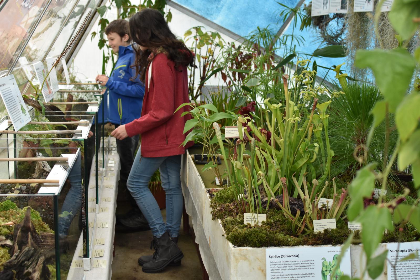 Návštěvní řád Botanické zahrady Třeboň